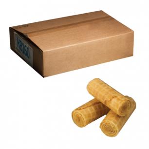 Вафли-рулетики ЯШКИНО со вкусом сгущеного молока, весовые, гофрокороб, 2,5кг, ш/к 53111
