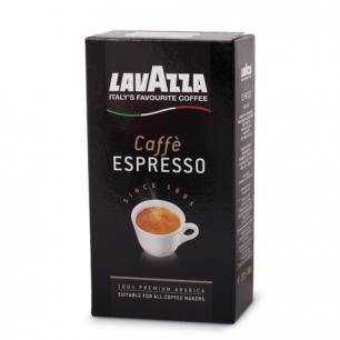 """Кофе молотый LAVAZZA """"Espresso"""", натуральный, арабика 100%, 250г, вакуумная упаковка, 1880"""