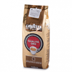 """Кофе в зернах LAVAZZA """"Oro"""", натуральный, арабика 100%, 250г, вакуумная упаковка, 2051"""