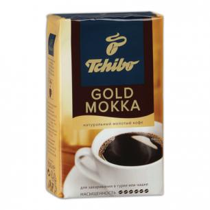 """Кофе молотый TCHIBO (Чибо)  """"Gold Mokka"""" натуральный, 250г, вакуумная упаковка, ш/к 01194"""