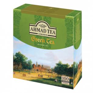 """Чай AHMAD """"Green Tea"""", зеленый, 100 пакетиков по 2г, 478-012"""