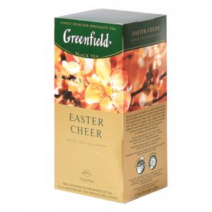 """Чай GREENFIELD """"Easter Cheer"""" (Пасхальное настроение), чер. с ванилью, 25пак.в кон. по 1,5г, ш/к05268"""