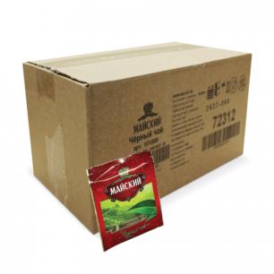 Чай МАЙСКИЙ черный, 200 пакетиков в конвертах по 2г, 101009