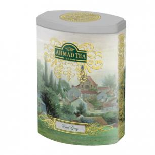 """Чай AHMAD (Ахмад)  """"Earl Grey"""", черный с бергамотом, листовой, ж/б, 100г, 1071N1"""