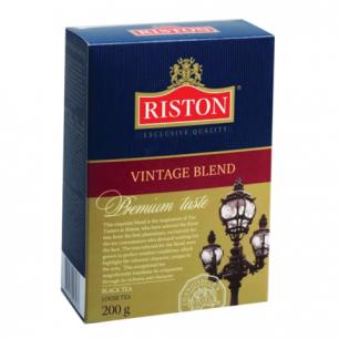 """Чай RISTON (Ристон)  """"Vintage Blend"""", черный листовой, картонная коробка 200г, ш/к 03276"""