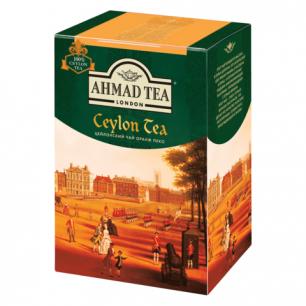 """Чай AHMAD """"Ceylon Tea OP"""", черный листовой, картонная коробка 200г, 1289"""