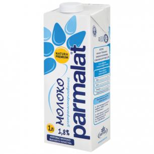 Молоко PARMALAT (Пармалат), жирность 1,8%, картонная упаковка, 1л, ш/к 02331