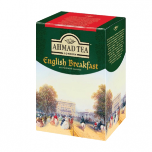 "Чай AHMAD (Ахмад)  ""English Breakfast"", черный листовой, картонная коробка, 200г, 1292-012"