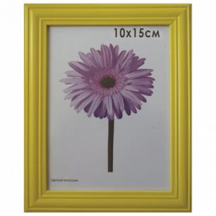"""Рамка премиум 10*15см """"Linda"""", дерево, желтая (для фотографий), 0065-4-0002"""