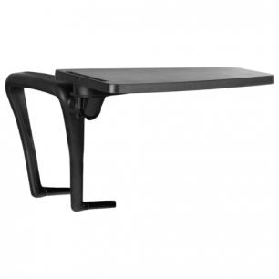 """Стол (пюпитр)  для стула """"ИЗО"""" для конференций, складной, пластик/металл, черный, шк 28108"""