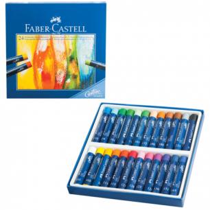 """Пастель художеств. FABER-CASTELL """"Studio quality"""", масляная, 24цв., картонная коробка, 127024"""