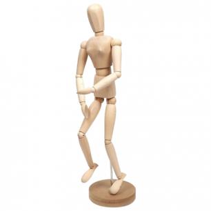 """Манекен (кукла)  человека художественный """"Сонет"""", женский, дерево, высота 50см, DK16208"""