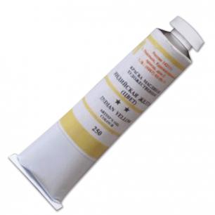 Краска масляная художественная ПОДОЛЬСК, туба 46мл, индийская желтая (250), шк2134