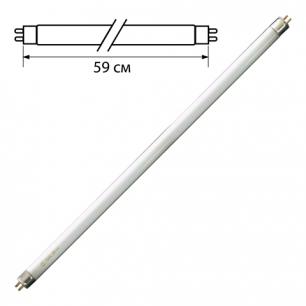 Лампа люминесцентная OSRAM L18/640, 18Вт, цокольG13, в виде трубки, длина 59см, холодный белый свет