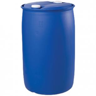 Бочка 227л, L-Ring Plus, полиэтилен (ПЭНД), 2 герметичные крышки диам. 60мм, для пищ и хим продуктов