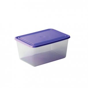 Контейнер 0,8л универсальный IDEA, для хранения и СВЧ, герметичная крышка, (в7*ш11*г15 см), М 1451