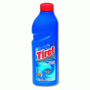 Средство для прочистки канализационных труб TIRET Professional (Тирет Профессионал)  1000мл, ш/к 01119