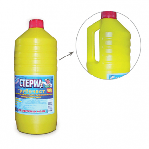 Средство для прочистки канализационных труб ТРУБОЧИСТ (тип КРОТ)  1000мл, ш/к 00077
