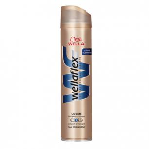 """Лак для волос WELLAFLEX (Веллафлекс)  250мл, """"Объем до 2х дней"""", сильная фиксация, ш/к 73834"""