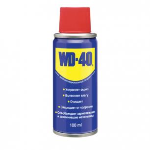 Средство WD-40 универсальное, 100 мл. для тысячи применений в офисе, быту, производстве ш/к 00017