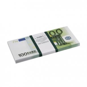 """Деньги шуточные """"100 евро"""", упаковка с ероподвесом, ш/к 72427"""