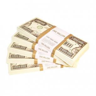 """Деньги шуточные """"1000 долларов"""", ероподвес, ш/к 72434"""