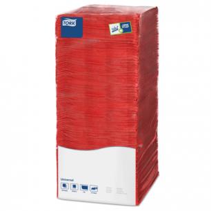Салфетки TORK Big Pack, 25х25, 500шт., красные, 478661