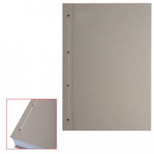 Крышки переплетные картонные для прошивки документов А4 305*220 мм, КОМПЛЕКТ 100шт, ш/к 71855