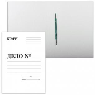 Скоросшиватель картонный STAFF, гарант. пл. 310 г/м2, до 200л.