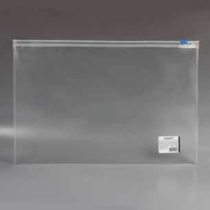 Папка-конверт на молнии STAFF А4 333*230мм, 0,12мм, 224979
