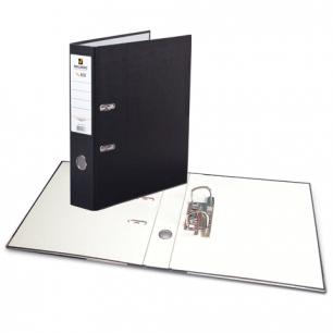 """Папка-регистратор BRAUBERG """"ECO"""", 80 мм, черная, 221395"""