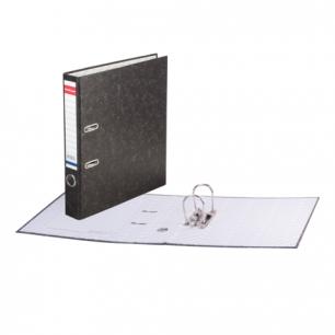 "Папка-регистратор ERICH KRAUSE ""Basic"", с мраморным покрытием, 50мм, без уголка, 70"