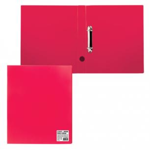 Папка 2 кольца STAFF эконом, 40мм, красная, до 250 листов, 0,5мм, 225722