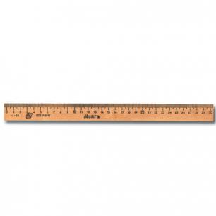 Линейка деревянная 30 см ЛП-300, С07