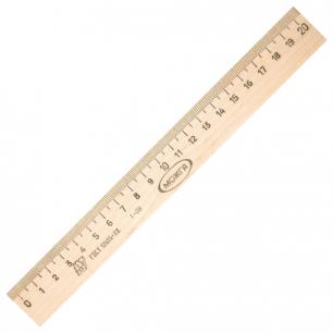 Линейка деревянная 20 см ЛП-200, С05