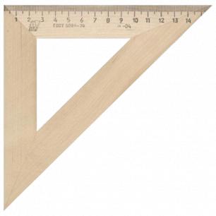Треугольник деревянный УЧД 45*160, С16