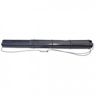 Тубус для чертежей СТАММ телескопический, диам. 9 см, длина 70-110 см, черный, на шнурке, ПТ01
