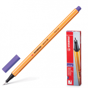 """Ручка капиллярная STABILO """"Point"""", толщ. письма 0,4мм, 88/55,фиолетовая"""