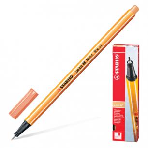 """Ручка капиллярная STABILO """"Point"""", толщ. письма 0,4мм, 88/26, цвет светло-телесный"""