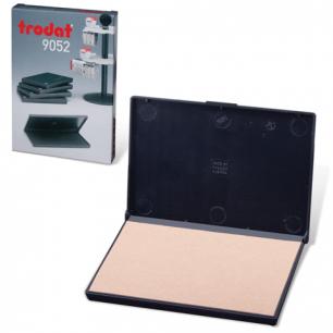 Штемпельная подушка TRODAT (110*70 мм)  неокрашенная, для красок на водной основе, 9052