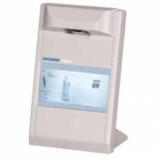 Детектор банкнот DORS-1000 M3, ЖК-монитор 10,2см, проверка в и/к-свете, серый