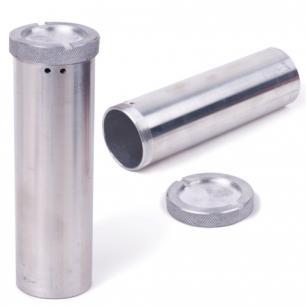 Пенал для хранения ключей дюралевый, длина 120 мм, диаметр 60 мм