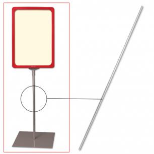Трубка для сборки напольной стойки под рамку POS, высота 1200 мм, диаметр 10мм, 290268