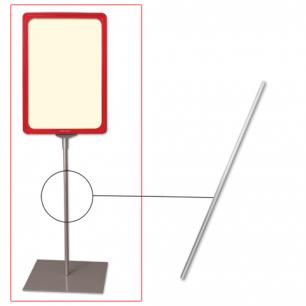 Трубка для сборки напольной стойки под рамку POS, высота 800 мм, диаметр 10мм, 290267