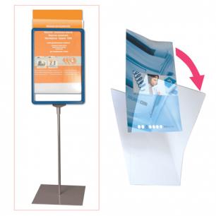Экран защитный для рамки POS А5, размер 210*148,5 мм (код 290258,290259,290260,290261), прозр., 290264