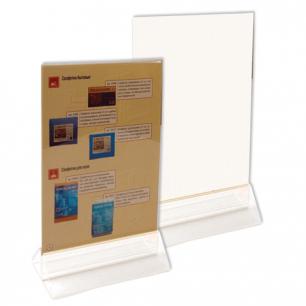 Подставка для рек. материалов настольная двусторонняя, ф. А5 148*210мм, №190