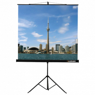 Экран проекционный LUMIEN ECO VIEW, матовый, на треноге, 150х150см, 1:1, LEV-100101