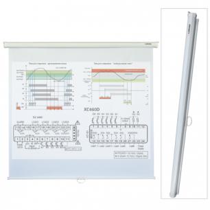 Экран проекционный LUMIEN ECO PICTURE, матовый, настенный, 160х160см, 1:1, LEP-100105