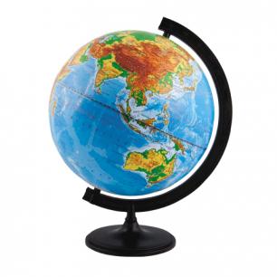 Глобус физический диаметр 320 мм (Россия)