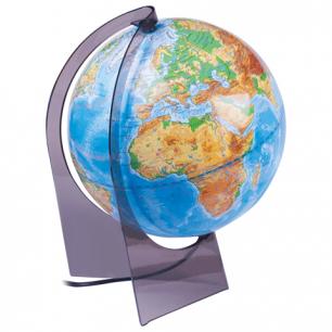 Глобус физический диаметр 210 мм (Россия), с подсветкой